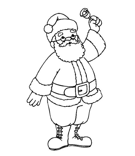 christmas coloring pages for dads father christmas colouring pictures cliparts co
