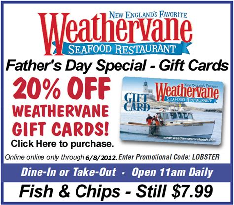 Hannaford Gift Card - weathervane coupons 171 darlene michaud