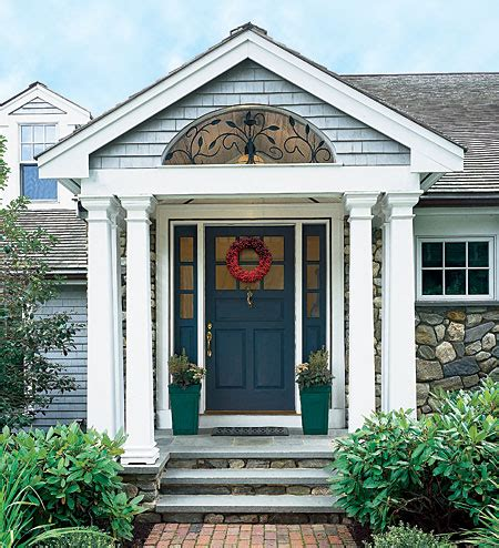 Portico Designs For Front Door Six Kinds Of Porches For Your Home Suburban Boston Decks And Porches