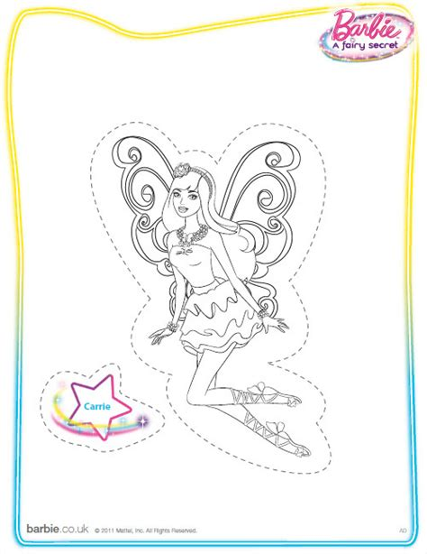 coloring pages barbie fairy secret barbie a fairy secret coloring printable barbie