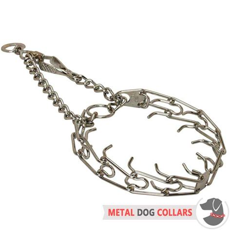 pinch collar collar metal steel prong pinch choke 3 mm spike collars breeds picture