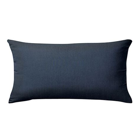 Home Decorators Outdoor Pillows by Home Decorators Collection Sunbrella Spectrum Indigo Long