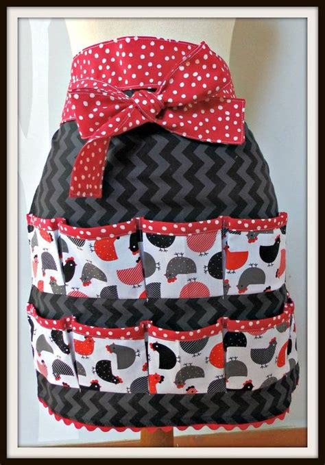 pattern for egg apron women s egg gathering apron chickens eggs by