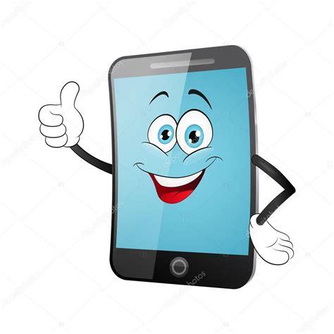 imagenes de telefonos inteligentes dibujos animados de tel 233 fonos inteligentes con el pulgar