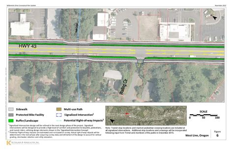 layout plan updated layout page 6 highway 43 conceptual design plan update