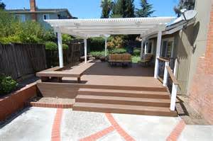 Patio Overhang Designs by Deck Designs Deck Overhangs Designs