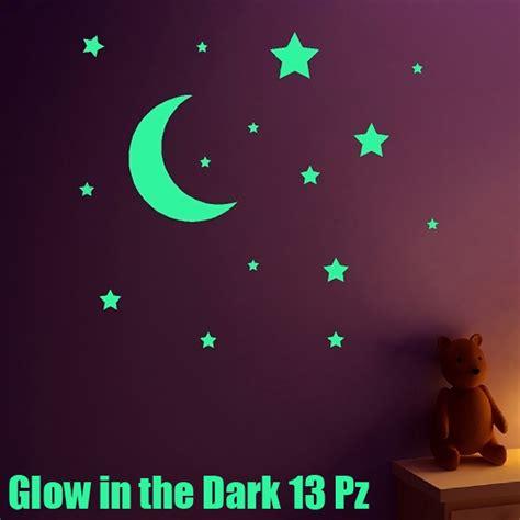 stelle fluorescenti soffitto stelle e fluorescenti fosforescenti adesive si