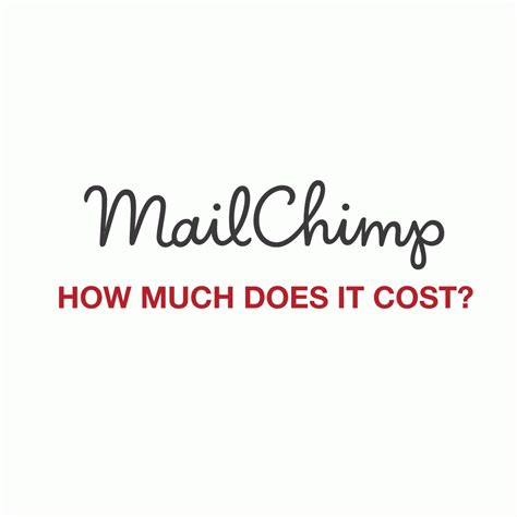 how much does it cost to mail a letter how much does mailchimp cost web design and strategy by 1284