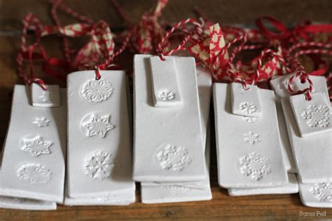 craft project clay christmas decorations sania pell