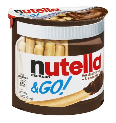 Nutella Go Nutella Go nutella go hazelnut spread breadsticks snack pack 1 8
