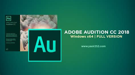 adobe audition full version with crack adobe audition cc 2018 full version v11 1 1 x64 yasir252