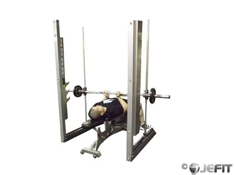 bench press with smith machine smith machine reverse close grip bench press exercise