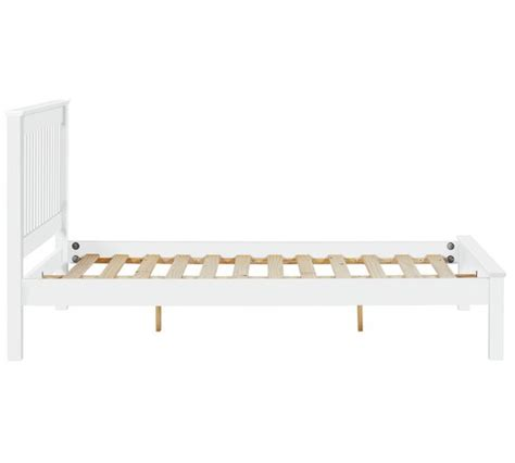 Small Bed Frame by Buy Collection Aspley Small Bed Frame White At