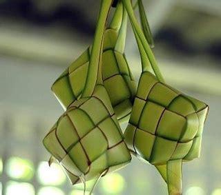 membuat ketupat  lontong  enak resep aneka