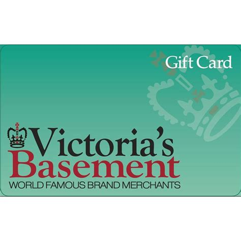 What Stores Have Ebay Gift Cards - victoria s basement gift card ebay