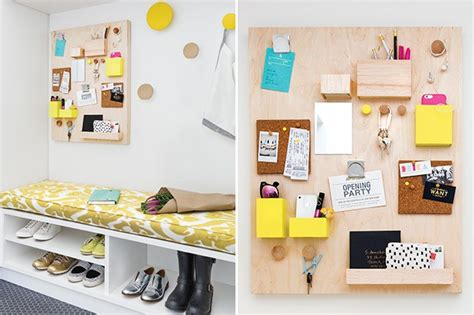 Diy Bedrooms diy modern wall organizer