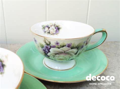 Cup Saucer Tea Set Cangkir Lepek Dengan Tutup Y85 Vicenza capodimonte cup saucer mint rl13190 c1 vs188r decoco