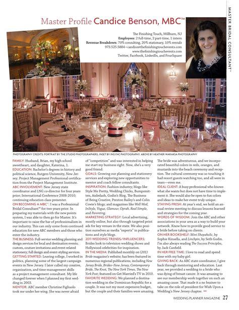 Hochzeitsplaner Magazin by Candice Featured In Wedding Planner Magazine 187 The