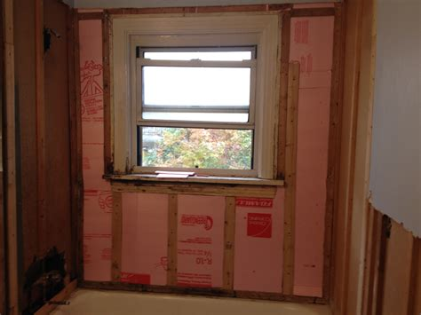vapor barrier for bathroom walls bathroom project part 4