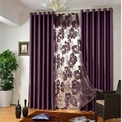 Drape Rod Brackets Elegant Contemporary Bedroom Curtains In Solid Color For