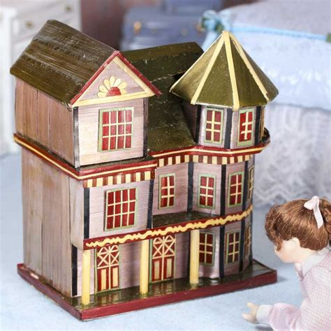 old fashioned house miniature old fashioned house storage box on sale home