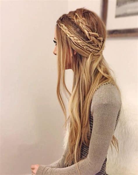 25 best ideas about hippie hair styles on