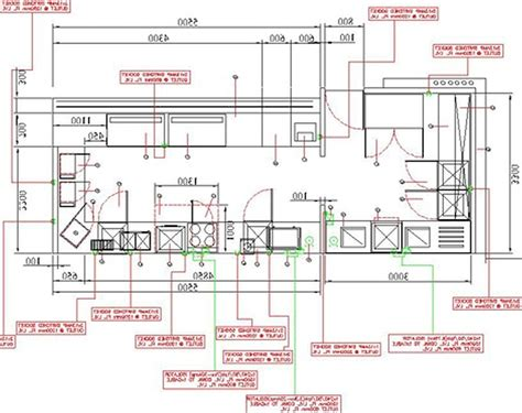 floor layouts commercial kitchen design plans kitchen and decor