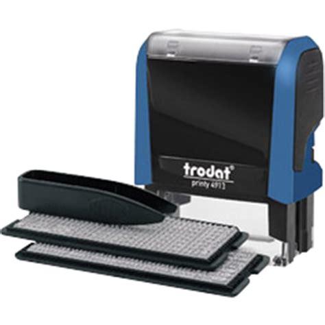 Printy 4913 Typo imprentilla sello automatico personalizable printy 4913 typo 58x22mm 5 lineas
