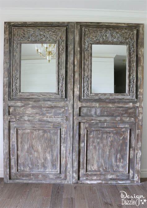 how to make glass doors how to make vintage doors from new wood