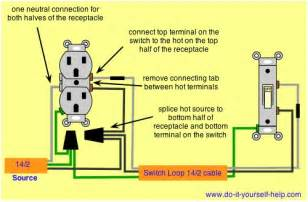 wiring switch from a electrical outlet garage