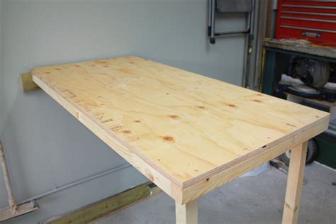 diy fold down table do it yourself storage shed plans folding workbench