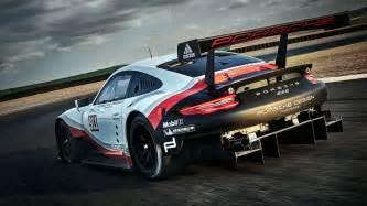Porsche Racing 2017 Porsche 911 Rsr Race Car Is Now Mid Engined Image