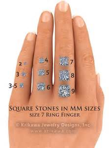 stone size (mm) comparison   style   Pinterest   The o