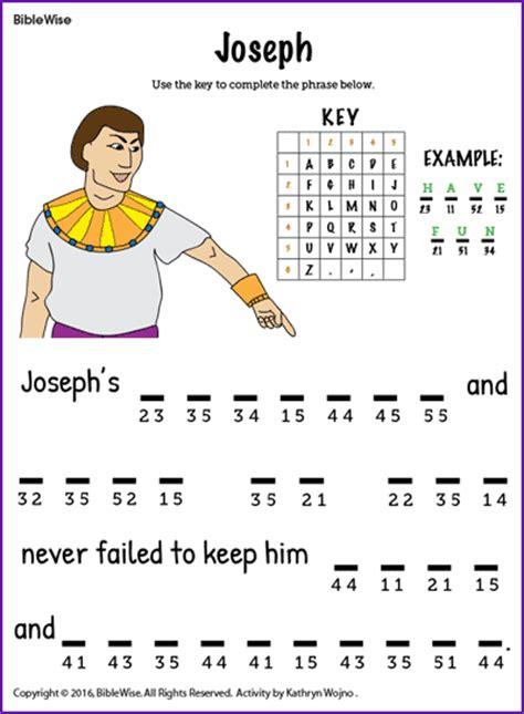 Joseph Puzzle Kids Korner Biblewise