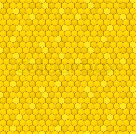 honey pattern vector seamless pattern of the honey comb stock vector colourbox