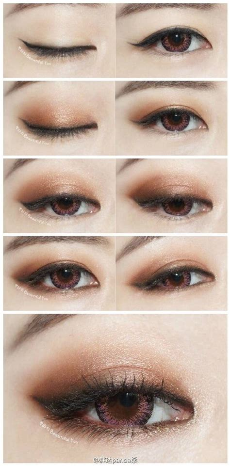 natural makeup tutorial for chinese sexy eye japanese eye makeup korean asian makeup