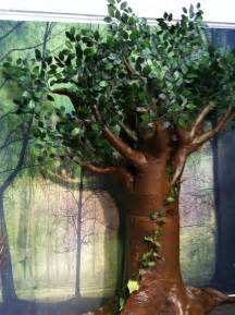 How To Make A Bush Out Of Paper - in clay how to make a paper mache tree
