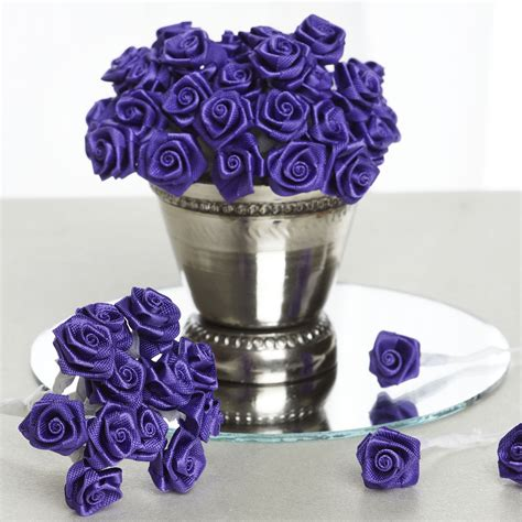 Wedding Favors Sale by 144 Pcs Mini Ribbon Roses Diy Wedding Favors Crafts