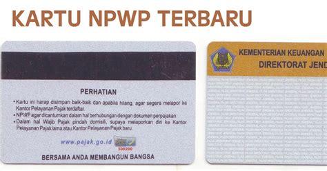 pembuatan npwp pribadi baru jasa pembuatan npwp murah cepat tangerang jakarta bekasi