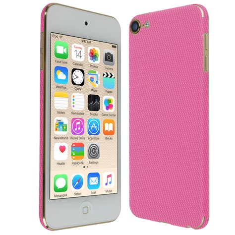 ipod touch 6th generation skinomi techskin apple ipod touch pink carbon fiber skin