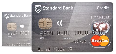 titanium credit card standard bank south africa