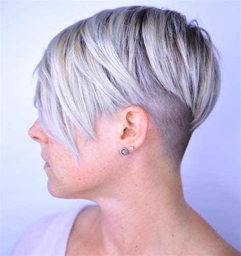 pixie cut with shaved nape 20 bold and daring takes on the shaved pixie cut