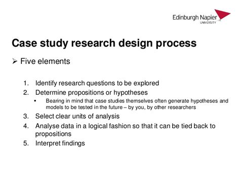 research design key elements introduction to organisational research and case studies
