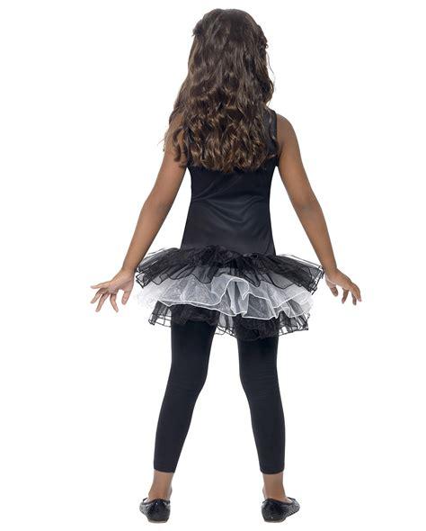 ballerina l for sale skeletal ballerina children s costume l dress with tutu