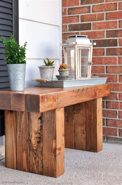 bench diy outdoor table outdoor wood projects