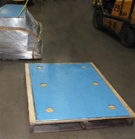 Teflon Supor ptfe slide plates designed for an refinery in