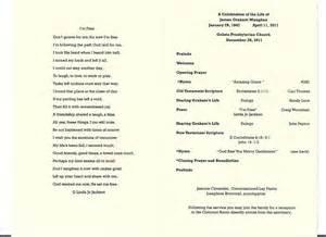 free program for memorial service todayfabricec