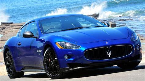 Maserati Granturismo Blue Maserati Granturismo S Mc In Blue Bad Vehicles
