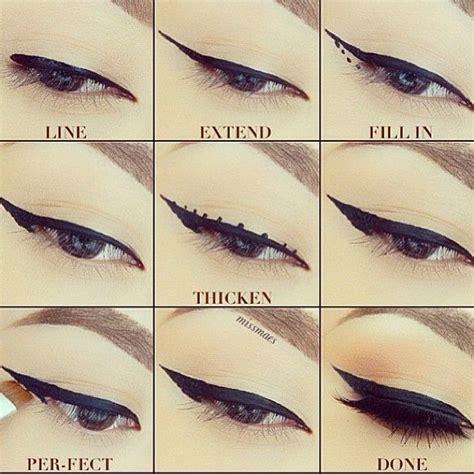 tutorial eyeliner liquid liquid eyeliner tutorial by melissa henson mae it she