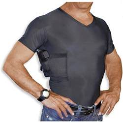 Most Comfortable Concealed Carry Holster Men S Concealed Carry Holster V Neck T Shirt By Undertech